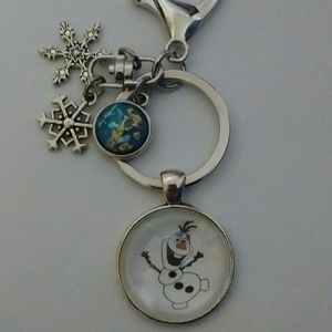 Disney Frozen Olaf Keychain/Purse Dangle